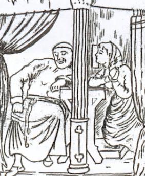 Le charme des filles au XVII e siècle