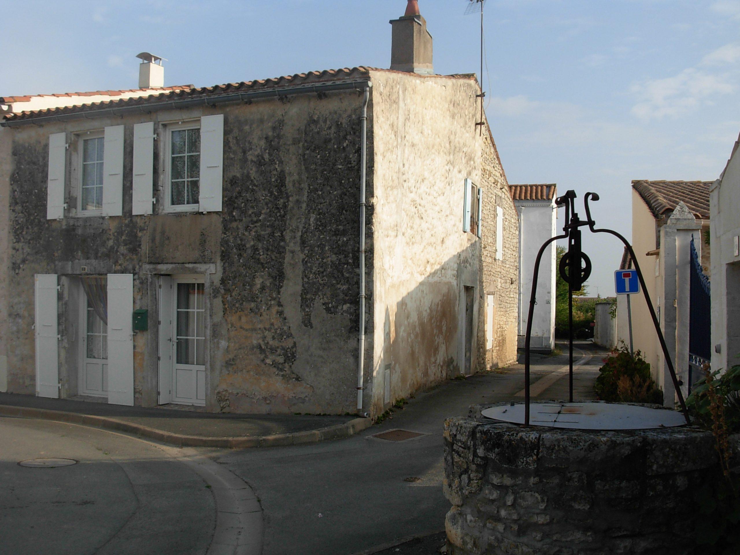 Maison de l'ancêtre Jacques Archambault à Saint-Xandre, en France