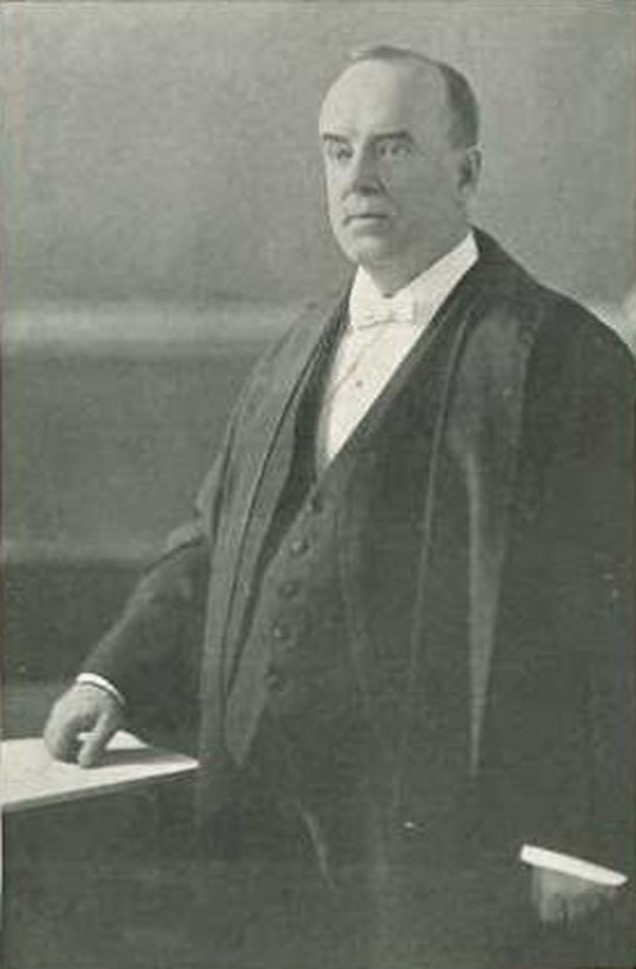 Sir Horace Archambeault, chief justice of the Court of King's Bench